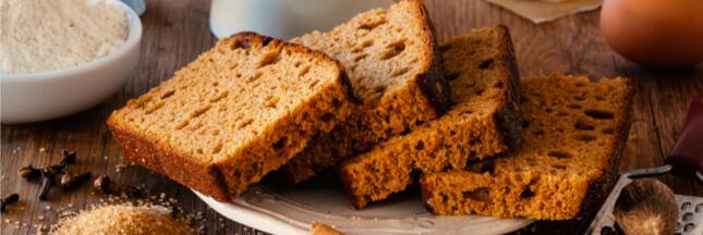 Goûters de saison: le pain d'épices magique