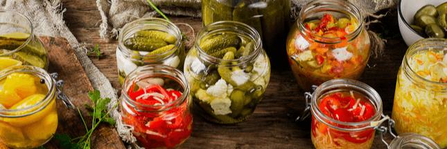 Aliments fermentés pour une digestion saine