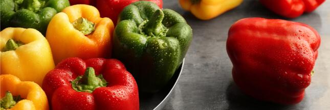 Légumes et fruits d'été: le poivron