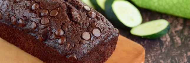 Recette: un gâteau chocolat courgette très moelleux