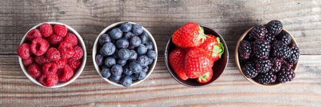 Les fruits rouges, des super-fruits made in ici