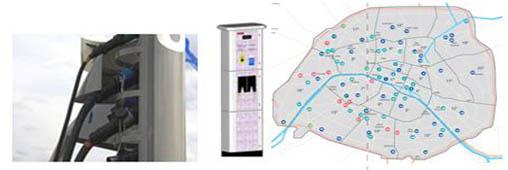 Voiture électrique: où sont les bornes de recharge?