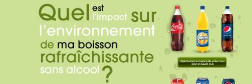 Affichage environnemental. Quid des sodas?