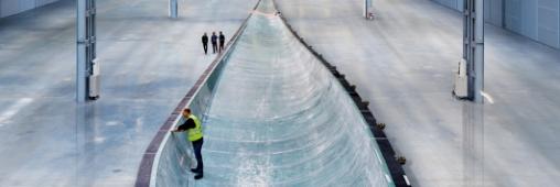 La plus grande pale d'éolienne au monde
