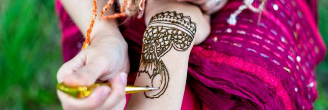 Idée reçue: le tatouage au henné est sans danger