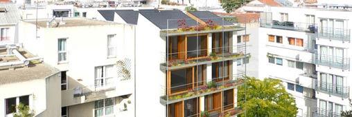 Un immeuble en chanvre en plein Paris, en images