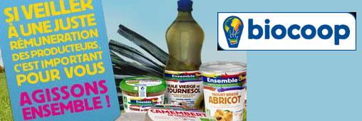 Biocoop, des magasins solidaires des producteurs