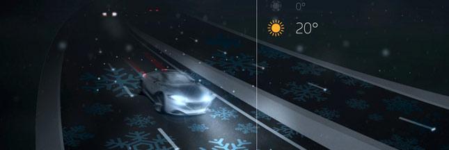 Economies d'énergie: une autoroute intelligente