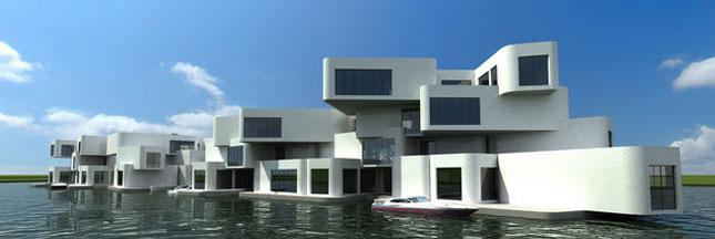 Koen Olthuis, l'architecte qui construit sur l'eau