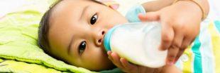 Le 'lait' de soja  : un danger pour les bébés !