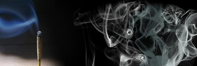 Idée reçue: l'encens assainit l'air ambiant