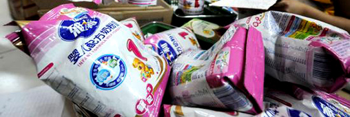 Une pénurie de lait bébé en poudre bientôt en France?