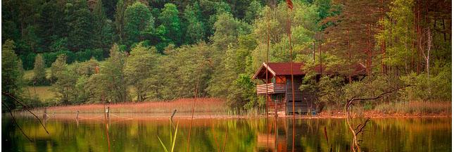 Tourisme Vert: dormir dans une cabane
