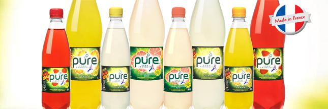 Les sodas Pure bio jouent la carte made in France