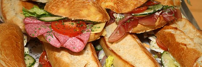 On mange toujours plus de sandwichs en France
