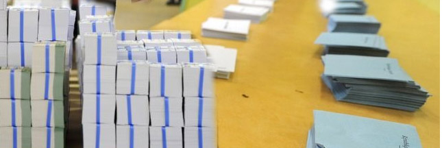 [1er avril] Des élections contestées à cause de bulletins biodégradables