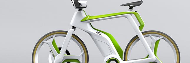APB: un vélo pour purifier l'air, concept-bike