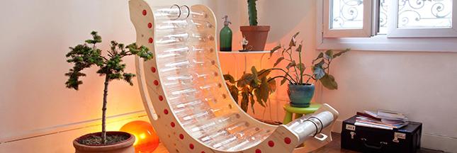 PlastiKetic: quand les bouteilles deviennent des meubles
