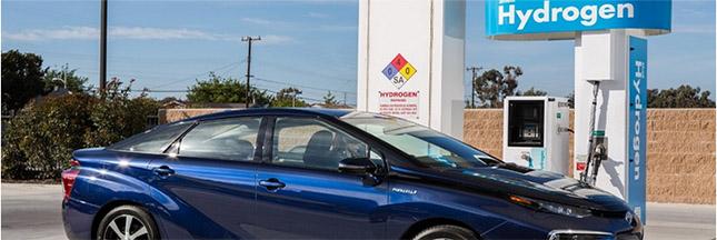 La Toyota Mirai à hydrogène, première voiture du futur?