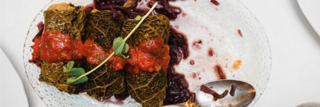 Notre chou vert farci aux épices… végétarien, sans gluten et sans lait!