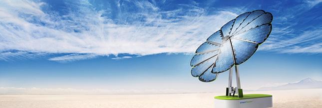 Energie photovoltaïque, Smartflower™, fleur de l'autoconsommation