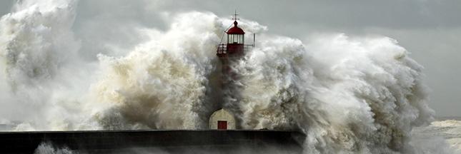tempête ouragan phare ouragan El nino climat changement climatique