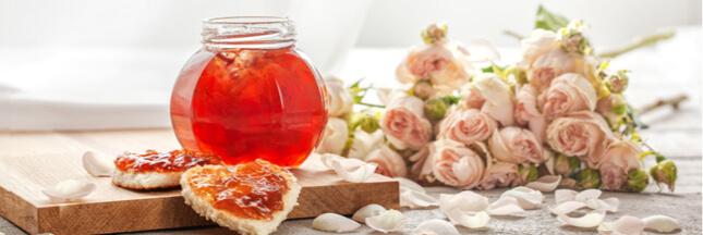 Une gelée de rose… pour vivre la vie en rose!