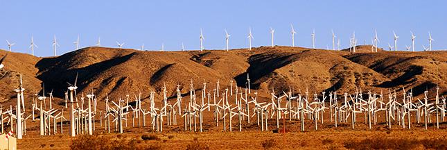 Californie: bientôt 50% d'énergies renouvelables. A quand la France?