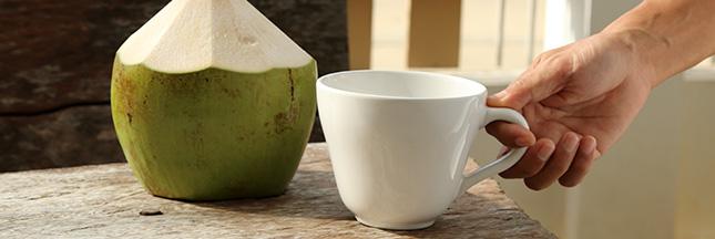 Crème et lait de coco: des ingrédients 'in' à consommer sans excès