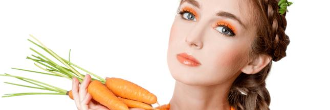 masque naturel visage, beauté masque carotte