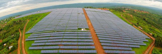 Le Rwanda lance le plus grand projet d'énergie solaire subsaharien