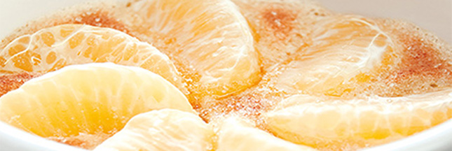 Recettes gourmandes aux 3 nuances orange