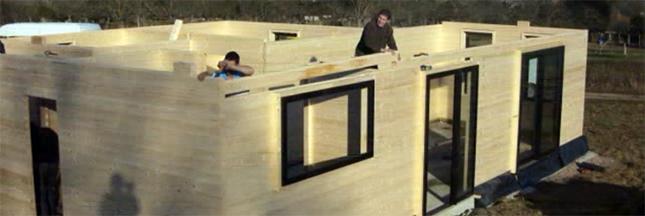 Le parpaing en bois, champion de la construction écologique