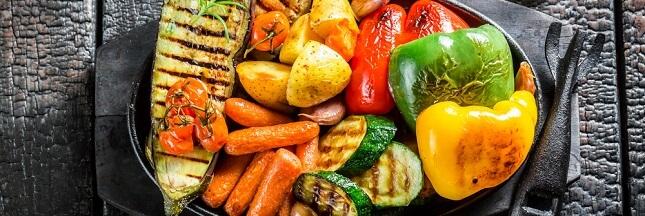 legumes au barbecue