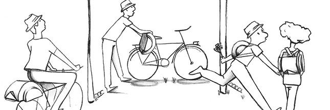 Soundary et ses sacs à dos qui facilitent les déplacements à pied ou à vélo