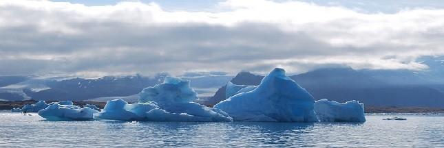 Réchauffement climatique: la banquise arctique a fondu comme jamais en 2016