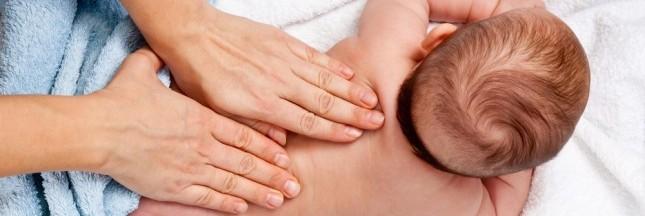 Masser son bébé: un moment de détente privilégié
