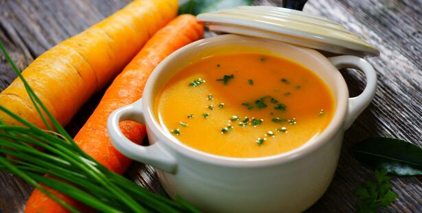 soupe carotte orange
