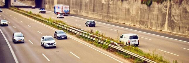 Des bornes de charge électrique sur autoroute
