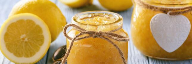 Confiture de citron: du peps au coeur de l'hiver!
