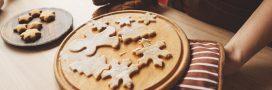 recette de biscuit de noel : étoiles de noel
