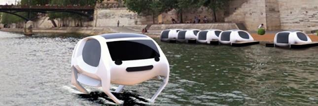 Projet de taxis volants sur la Seine: des tests en mars 2017… non, dans l'été 2018