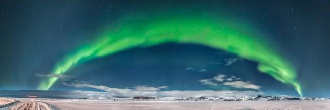 Rêverie la tête dans les étoiles: les aurores boréales