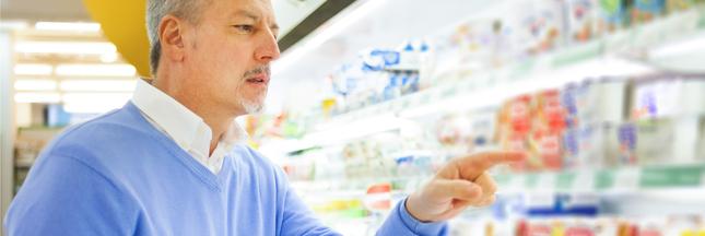 Un logo pour noter les aliments en supermarchés