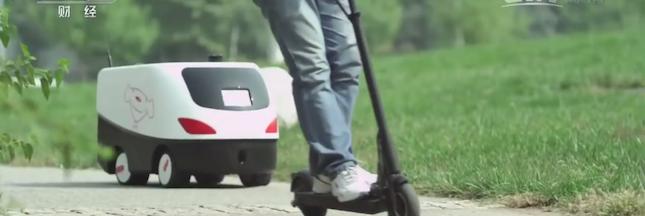 L'ère des robots livreurs est arrivée en Chine