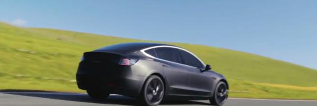 Tesla Model 3: les premiers exemplaires livrés fin juillet