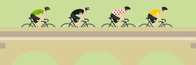 Le Tour de France, en vélo ou en bus?