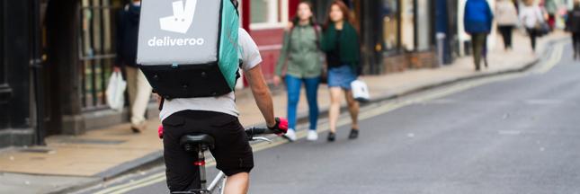 Livraison de repas: la LDH apporte son soutien aux coursiers à vélo