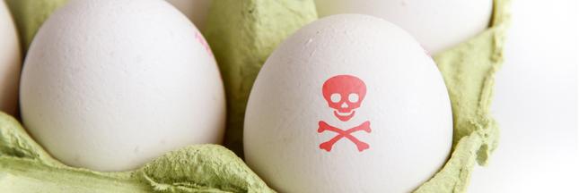 Œufs contaminés: un deuxième insecticide en cause