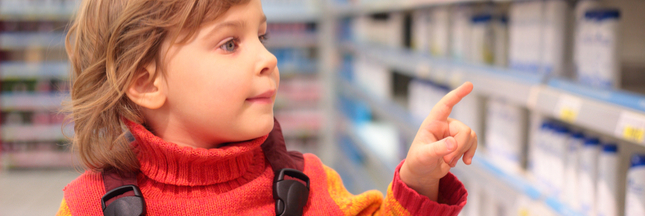 234 aliments pour enfants à bannir dans les rayons des supermarchés!